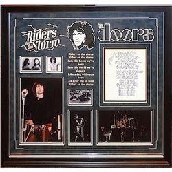 "Jim Morrison ""Riders on the Storm"" Handwritten Lyrics"