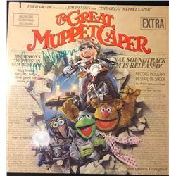 Jim Henson 'The Great Muppet Casper' Signed Soundtrack