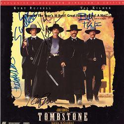 Tombstone Cast Signed Movie Laserdisc Album