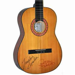 Frankie Avalon Annette Funicello Signed 1950 – 1960's Excel EX36N Vintage Acoustic Guitar