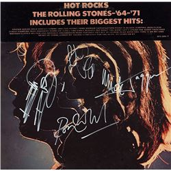The Rolling Stones Band Signed Hot Rocks 1964-1971 Album