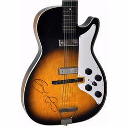 Eric Clapton Signed Lightened Sunburst 1950 – 1960s Airline Les Paul Styled Vintage Guitar