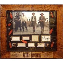 The Wild Bunch signed Collage
