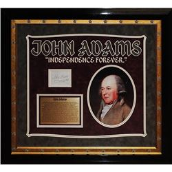 John Adams Signature Cut Collage