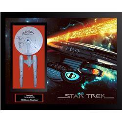 William Shatner Signed Star Trek Enterprise Model