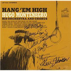 Hang 'Em High Cast Signed Movie Soundtrack Album