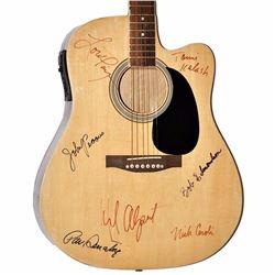 Herb Alpert Tijuana Brass Band Signed Vintage Acoustic Guitar
