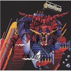 Judas Priest Band Signed Defenders Of The Faith Album