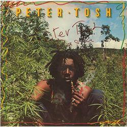 Peter Tosh Signed Legalize It Album