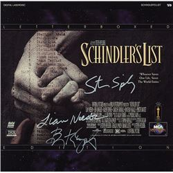 Schindler's List Cast Signed Movie Laserdisc Album