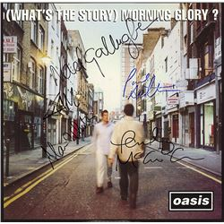 Oasis Band Signed (What's The Story) Mornin Glory? Album