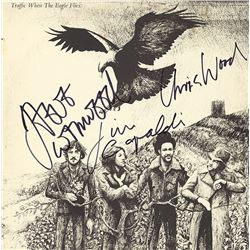 Traffic Band Signed When The Eagle Flies Album