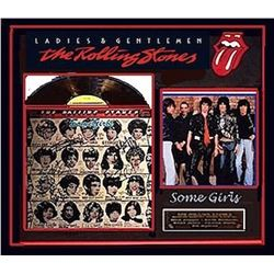 Rolling Stones signed Album Collage