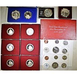 COIN LOT:  (6) GEORGE WASHINGTON HALF DOLLAR PROOF