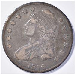 1836 BUST HALF DOLLAR  VF/XF