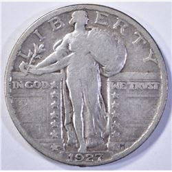1927-S STANDING LIBERTY QUARTER  VF++