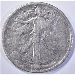 1923-S WALKING LIBERTY HALF DOLLAR  F