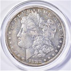 1882-CC MORGAN DOLLAR, AU