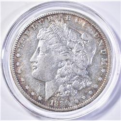 1889-S MORGAN DOLLAR, AU