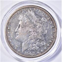 1903-S MORGAN DOLLAR, XF+ KEY DATE