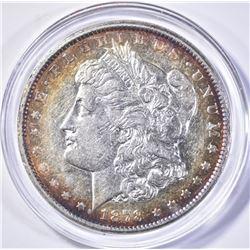 1878-CC  MORGAN DOLLAR, AU+
