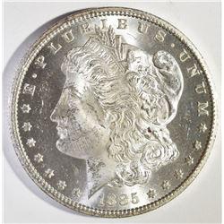 1885-CC MORGAN DOLLAR, CH BU SEMI-PL FLASHY!!!