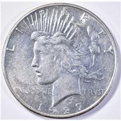 1927-S PEACE DOLLAR  CH BU  NICE