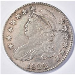 1822 BUST HALF DOLLAR  XF