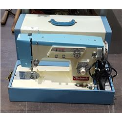 VINTAGE PIEDMONT PORTABLE SEWING MACHINE