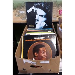 BOX OF COLLECTIBLE RECORDS