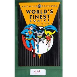 WORLD'S FINEST COMICS ARCHIVES VOL. 2 HARD COVER COMIC BOOK