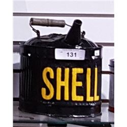 VINTAGE SHELL 1 GALLON FUEL CAN