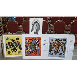 4 LIMITED EDITION NATIVE PRINTS
