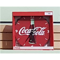 NIB COCA-COLA BOTTLE CAP CLOCK