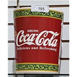 COCA-COLA GARBAGE CAN