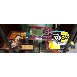 FIVE 1940'S JAZZ & BIG BAND 78'S ALBUMS