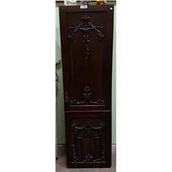 SMALL ANTIQUE CARVED WARDROBE
