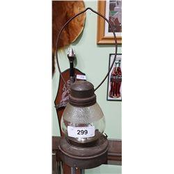 VINTAGE 1920'S SUPREME SKATERS LAMP
