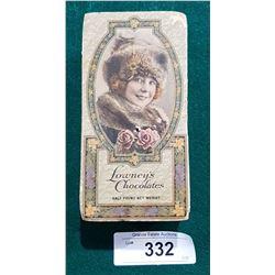 1920'S LOWNEYS CHOCOLATES BOX
