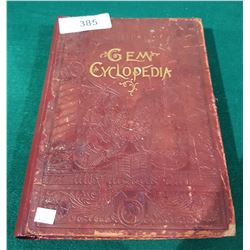 ANTIQUE 1896 HIGHLY ILLUSTRATED GEM CYCLOPEDIA