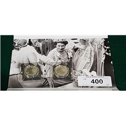 2 ROYAL CANADIAN MINIT 2012 $20 FINE SILVER COMMEMORATIVE COIN
