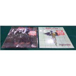 2 VINTAGE COLLECTIBLE MOTLEY CREW LP'S