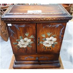 TOLL PAINTED CABINET