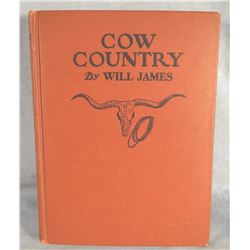 James, Will, Cow Country, 1st, near fine, 1927