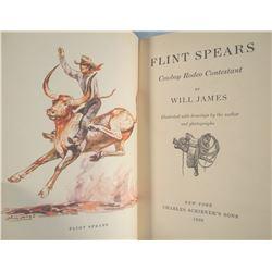 James, Will, Flint Spears, 1st, 1938, dj, good