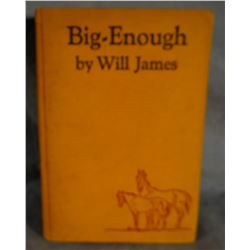 James, Will, Big Enough, 1st, 1931, good