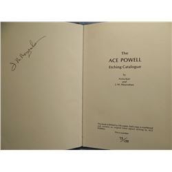 Powell, Ace Etching Catalogue, 1973, Anita Kair and J. M. Moynahan, #73/135