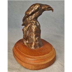 """Scriver, Bob bronze, Eagle, 62/250, 4"""" h x 2"""" w"""