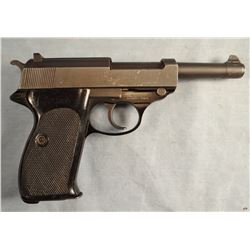 Walther P-38 pistol,  9 mm, s# 321398