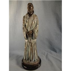 "Morrison, C. R. bronze ""Emmanuel"" (statue of Christ), 2/100, 15"" h x 5"" w"